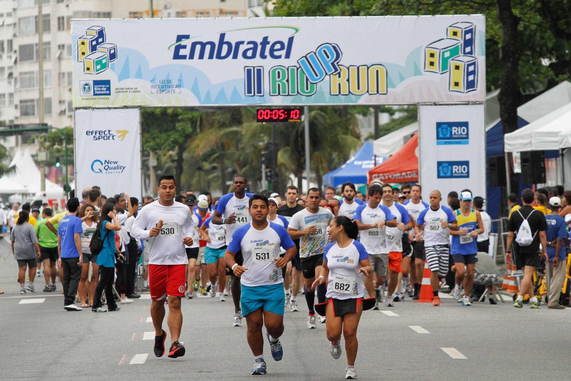 Embratel Rio Up Run: degraus acima, degraus abaixo