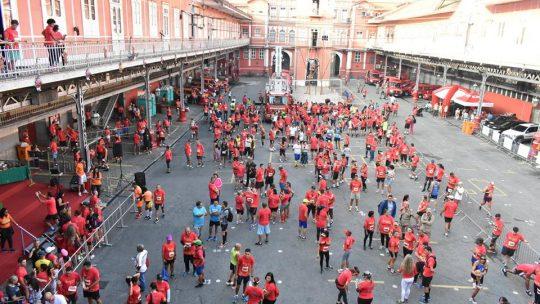 Corrida e Caminhada Soldado do Fogo: correndo com os heróis no centro do Rio