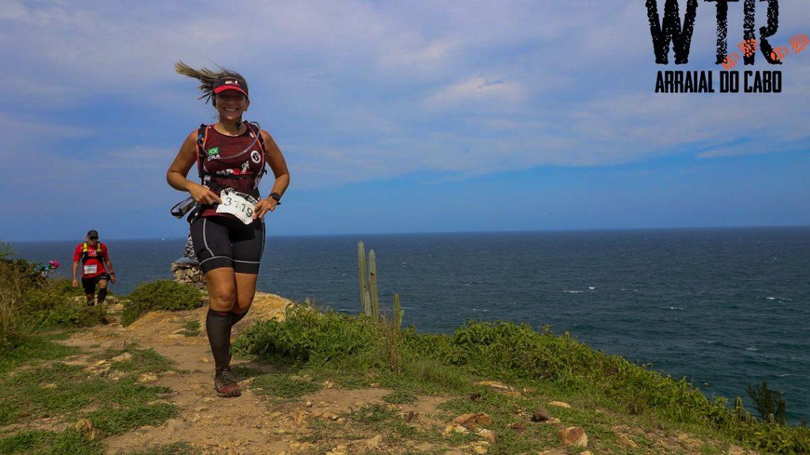 WTR Arraial do Cabo: mais uma batalha na incrível jornada de Patrícia Santos, da MP RUN